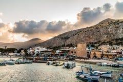 De Haven van Palermo royalty-vrije stock foto
