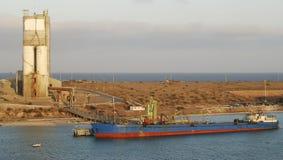 De Haven van Pichilingue royalty-vrije stock afbeelding