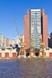 De haven van Porto Alegre Stock Fotografie