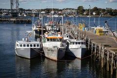 De Haven van Portsmouth New Hampshire Stock Afbeeldingen