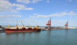 De Haven van Progreso Stock Foto's