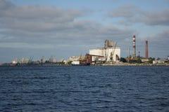 De Haven van Riga Stock Afbeeldingen