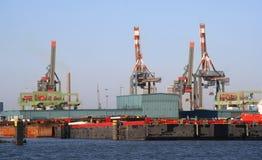 De Haven van Rotterdam Royalty-vrije Stock Afbeeldingen