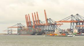De Haven van Rotterdam Royalty-vrije Stock Foto's