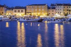 De haven van Rovinj royalty-vrije stock afbeelding