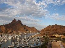 De haven van San Carlos stock foto
