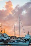 De haven van Stavanger Stock Foto