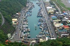 De haven van Suao, Yilan Provincie, Taiwan stock foto