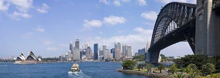De Haven van Sydney Royalty-vrije Stock Foto