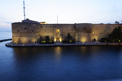 De Haven van Taranto Royalty-vrije Stock Afbeelding