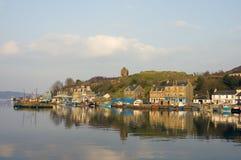 De Haven van Tarbert stock afbeelding