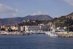 De haven van Terracina Stock Foto's