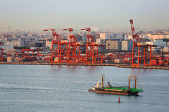 De haven van Tokyo stock fotografie