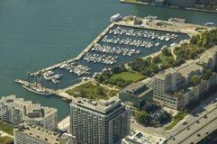 De haven van Toronto Royalty-vrije Stock Foto's