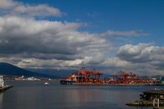 De Haven van Vancouver Royalty-vrije Stock Fotografie