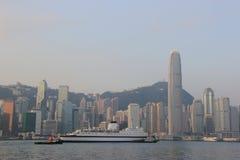 De Haven van Victoria in Hongkong Royalty-vrije Stock Fotografie