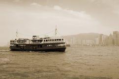 De Haven van Victoria in Hongkong Royalty-vrije Stock Afbeeldingen
