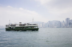 De Haven van Victoria in Hongkong Stock Afbeelding