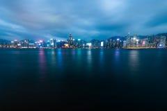 De Haven van Victoria, Hongkong Stock Afbeeldingen