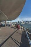 De haven van Victoria van Hongkong Stock Foto