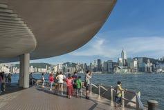 De haven van Victoria van Hongkong Stock Afbeelding