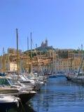 De Haven van Vieux, Marseille (Frankrijk) stock fotografie
