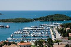 De haven van Vrsar Royalty-vrije Stock Foto's