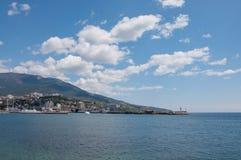 De haven van Yalta Royalty-vrije Stock Afbeelding