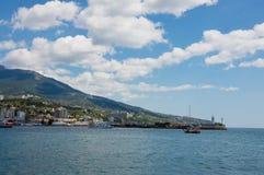 De haven van Yalta Royalty-vrije Stock Afbeeldingen