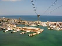 De havengebied van Vell van de haven Royalty-vrije Stock Foto's