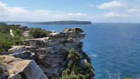 De haveningang van Sydney Stock Fotografie