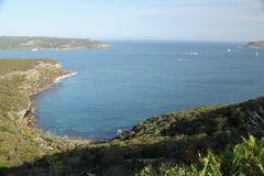 De haveningang van Sydney stock foto's
