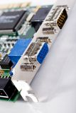 De havens van de computer Royalty-vrije Stock Afbeeldingen