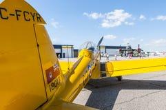 de Havilland加拿大DHC-1花栗鼠 免版税库存照片