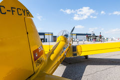 The de Havilland Canada DHC-1 Chipmunk Royalty Free Stock Photo