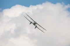 De Havilland DH89 Dominie. 1930's Vintage, British De Havilland DH89 Dominie biplane Stock Images