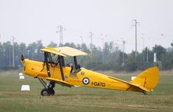 DE Havilland DH82 - bij La Comina 100 verjaardag Royalty-vrije Stock Fotografie