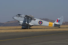 De Havilland Dragon Rapide beskatta Royaltyfria Bilder