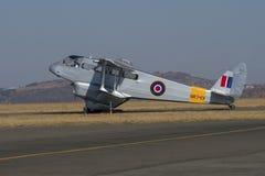De Havilland Dragon Rapide taxing Royalty Free Stock Images
