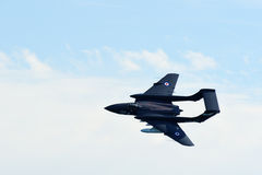 De Havilland Sea Vixen in flight Royalty Free Stock Photography
