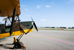 De Havilland Tiger Moth Royalty Free Stock Photography