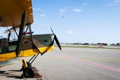 De Havilland Tiger Moth Royalty Free Stock Photography