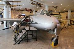 De Havilland Vampire FB 6 免版税库存照片