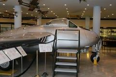 De Havilland Vampire FB 6 免版税库存图片