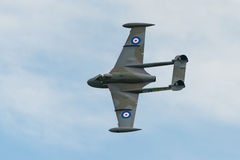 De Havilland Venom jet fighter Royalty Free Stock Image