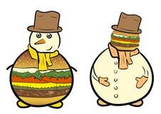 De heer Hamburger clipart Stock Foto's