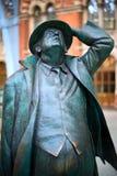 De heer John Betjeman bij St Pancras Royalty-vrije Stock Afbeelding