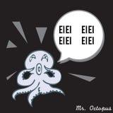 De heer Octopus 02 Stock Foto