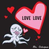 De heer octopus 03 Stock Afbeelding