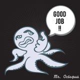 De heer Octopus 06 Royalty-vrije Stock Foto's